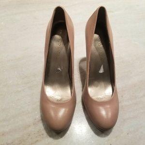 Franco Sarto nude heels